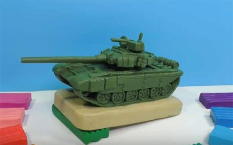 Поделка Танк из различных материалов: отличный подарок на 23 февраля tank svoimi rukami 24