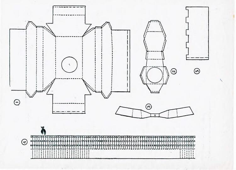 Поделка Танк из различных материалов: отличный подарок на 23 февраля tank svoimi rukami 39