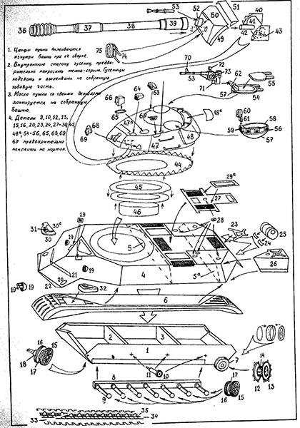 Поделка Танк из различных материалов: отличный подарок на 23 февраля tank svoimi rukami 43
