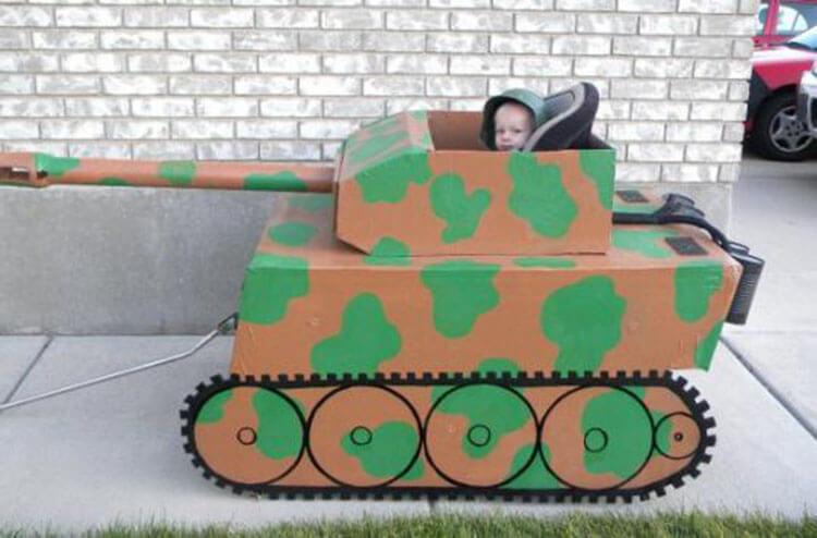 Поделка Танк из различных материалов: отличный подарок на 23 февраля tank svoimi rukami 49