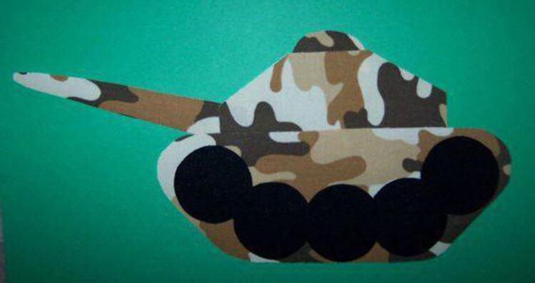 Поделка Танк из различных материалов: отличный подарок на 23 февраля tank svoimi rukami 53