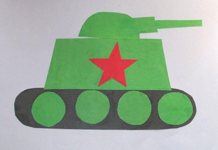 Поделка Танк из различных материалов: отличный подарок на 23 февраля tank svoimi rukami 55