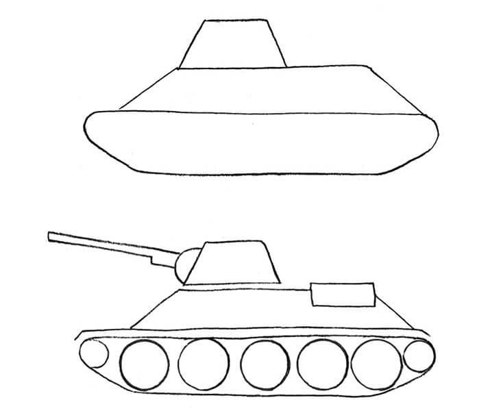 Поделка Танк из различных материалов: отличный подарок на 23 февраля tank svoimi rukami 76