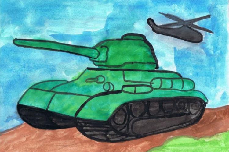 Поделка Танк из различных материалов: отличный подарок на 23 февраля tank svoimi rukami 78