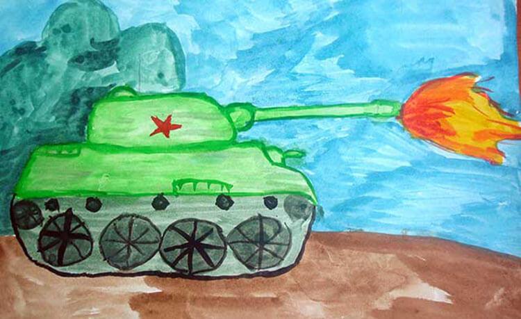 Поделка Танк из различных материалов: отличный подарок на 23 февраля tank svoimi rukami 79
