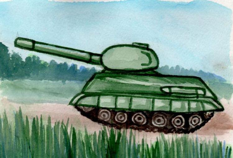 Поделка Танк из различных материалов: отличный подарок на 23 февраля tank svoimi rukami 80