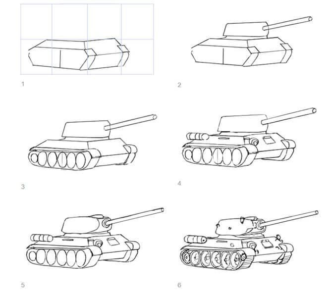 Поделка Танк из различных материалов: отличный подарок на 23 февраля tank svoimi rukami 83