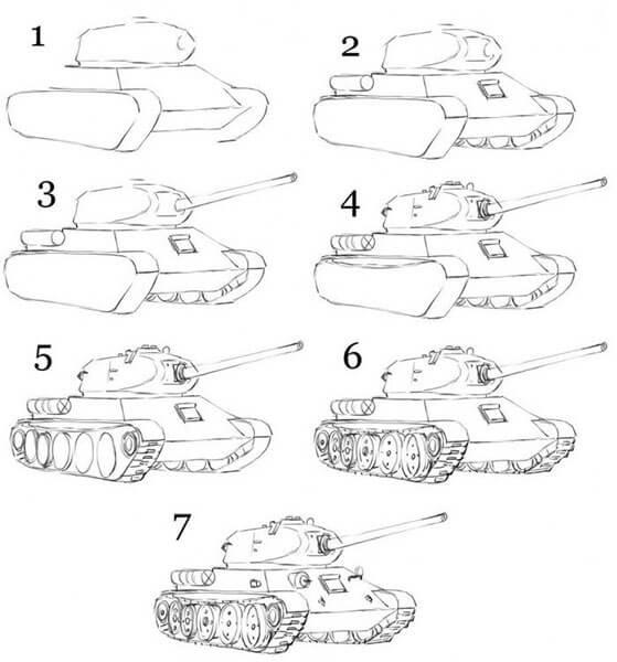 Поделка Танк из различных материалов: отличный подарок на 23 февраля tank svoimi rukami 86