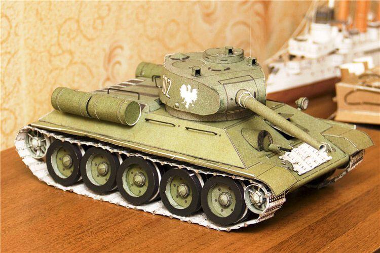 Поделка Танк из различных материалов: отличный подарок на 23 февраля tank svoimi rukami 99