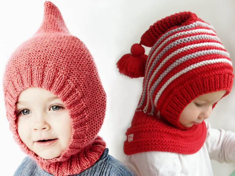 Шапка шлем для взрослых и детей: вяжем головной убор спицами viazanie shapki shlema 1