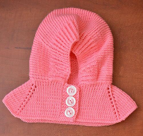 Шапка шлем для взрослых и детей: вяжем головной убор спицами viazanie shapki shlema 18