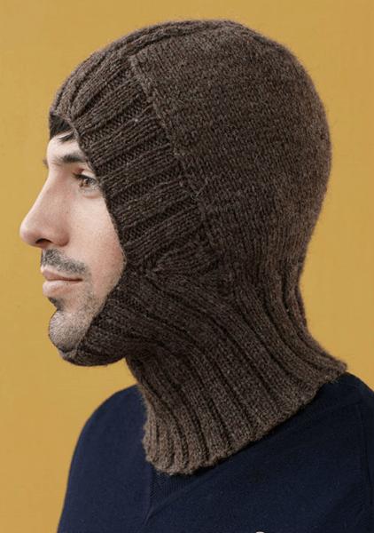 Шапка шлем для взрослых и детей: вяжем головной убор спицами viazanie shapki shlema 34
