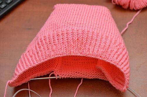 Шапка шлем для взрослых и детей: вяжем головной убор спицами viazanie shapki shlema 8