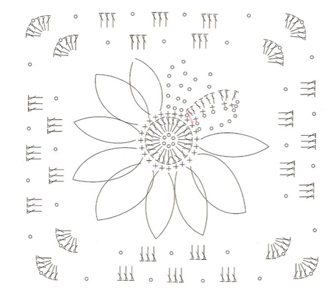 Вязаные прихватки крючком: примеры с фото и схемами vyazanye prihvatki kryuchkom 63