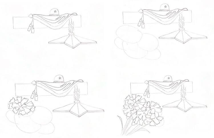 Красивые рисунки на 23 февраля для садика и школы 116 119