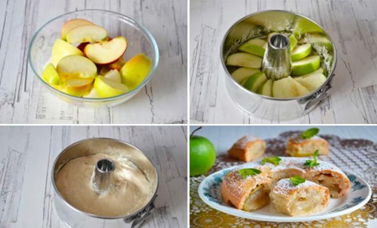 Как приготовить шарлотку с яблоками: вкусные проверенные рецепты 58 61