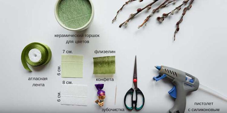 Поделка Подснежники из различных материалов: мастер классы с фото Podsnezhniki svoimi rukami 61