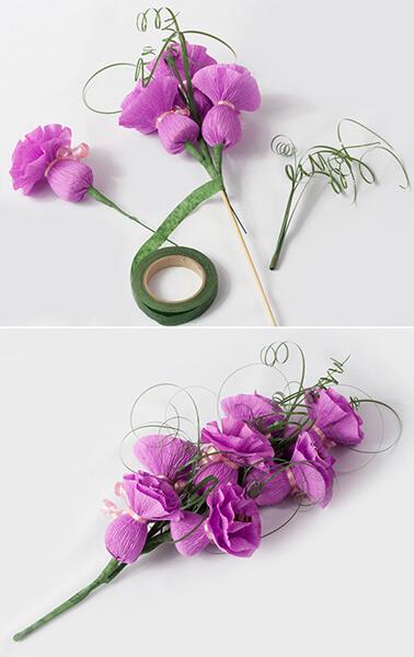 Красивый и сладкий букет из конфет на 8 марта: мастер классы с фото bukety iz konfet svoimi rukami 11