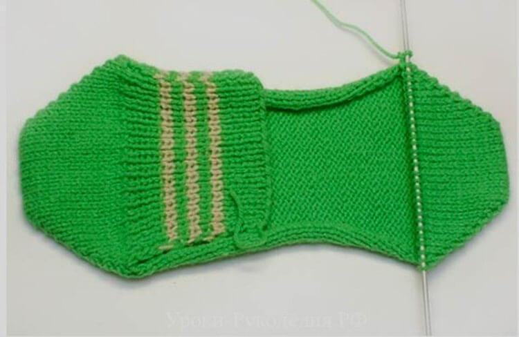 Как связать красивые носки спицами: варианты вязания на 2х и 5ти спицах kak svyazat noski 15