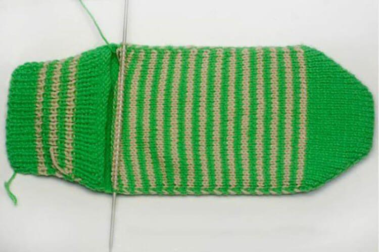 Как связать красивые носки спицами: варианты вязания на 2х и 5ти спицах kak svyazat noski 21