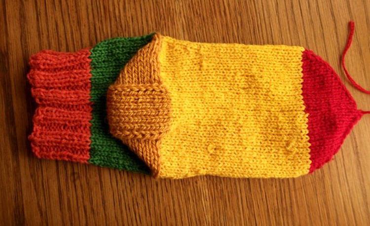Как связать красивые носки спицами: варианты вязания на 2х и 5ти спицах kak svyazat noski 43