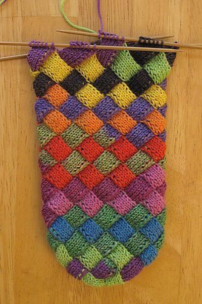 Как связать красивые носки спицами: варианты вязания на 2х и 5ти спицах kak svyazat noski 70