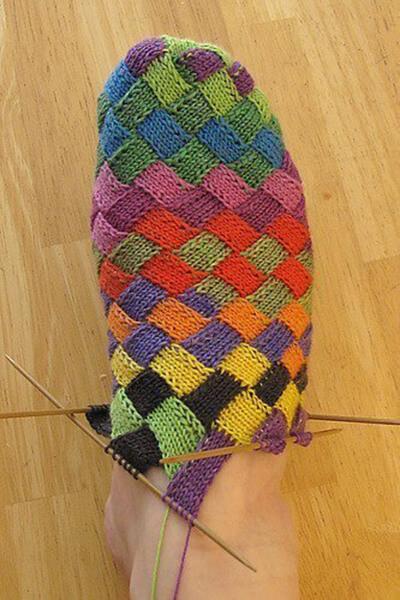 Как связать красивые носки спицами: варианты вязания на 2х и 5ти спицах kak svyazat noski 72