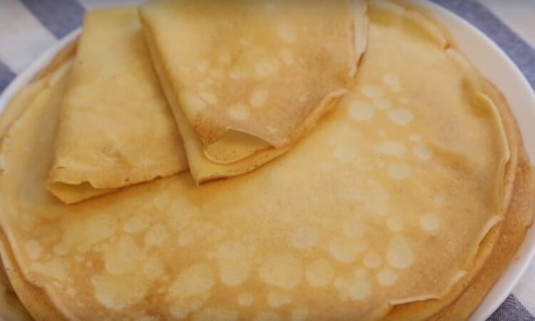 Блинчики на молоке: вкусные проверенные рецепты любимого блюда recepty blinov na moloke 22