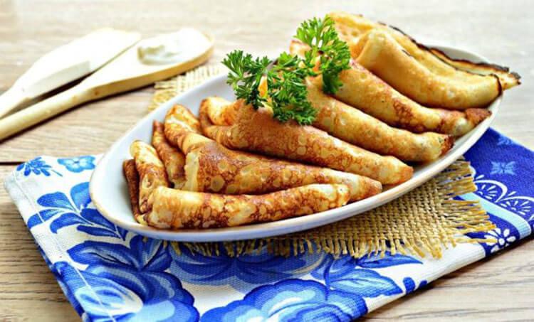 Блинчики на молоке: вкусные проверенные рецепты любимого блюда recepty blinov na moloke 50