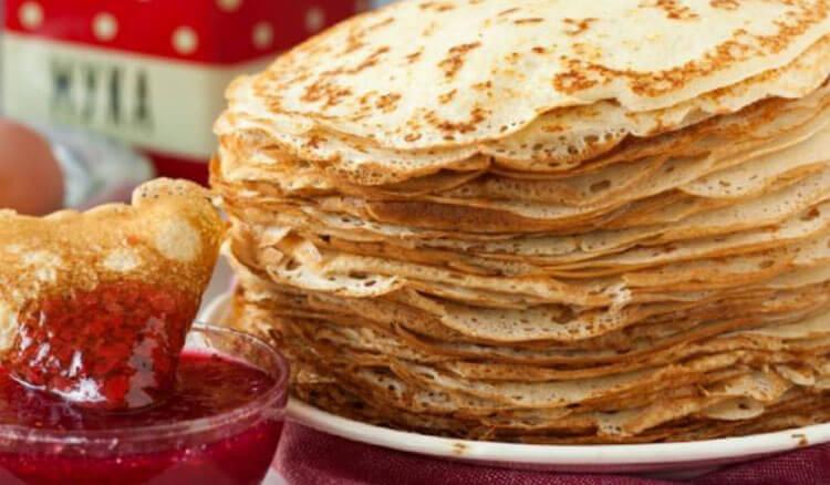 Блинчики на молоке: вкусные проверенные рецепты любимого блюда recepty blinov na moloke 55