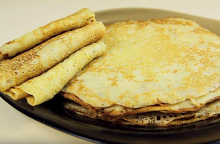 Блинчики на молоке: вкусные проверенные рецепты любимого блюда recepty blinov na moloke 62