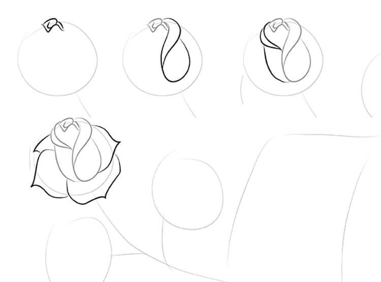 Что можно нарисовать на 8 марта для мамы и бабушки risunki k 8 marta 40