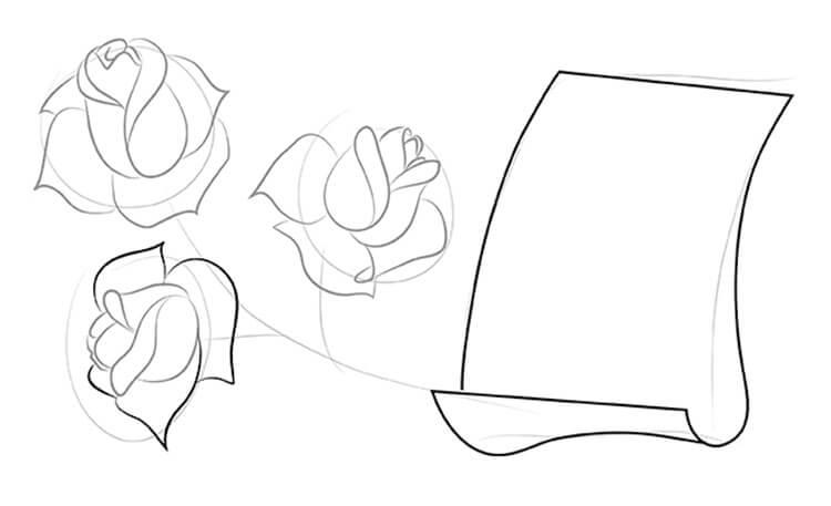 Что можно нарисовать на 8 марта для мамы и бабушки risunki k 8 marta 42