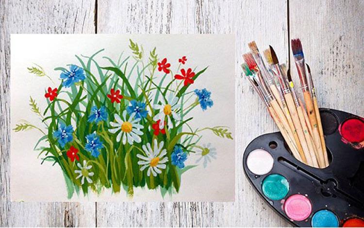 Что можно нарисовать на 8 марта для мамы и бабушки risunki k 8 marta 47