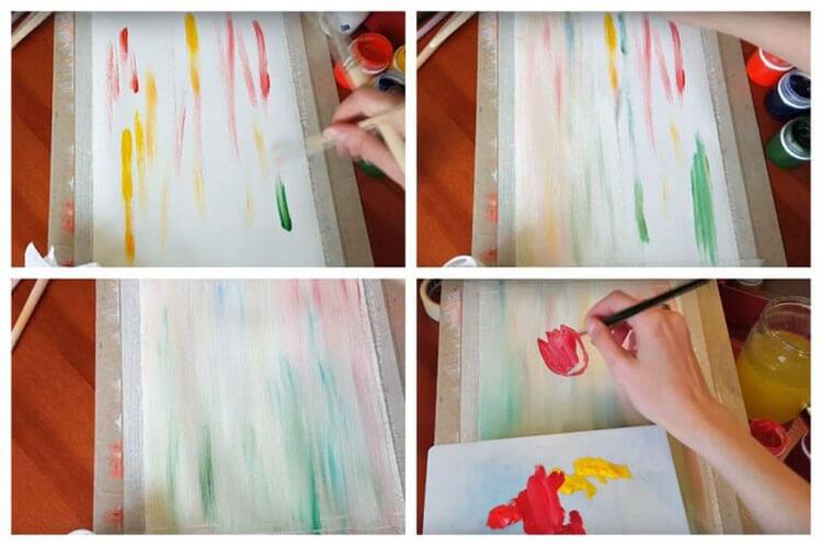 Что можно нарисовать на 8 марта для мамы и бабушки risunki k 8 marta 48