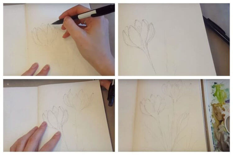 Что можно нарисовать на 8 марта для мамы и бабушки risunki k 8 marta 51