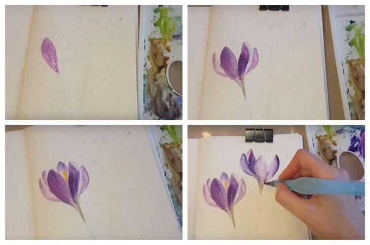 Что можно нарисовать на 8 марта для мамы и бабушки risunki k 8 marta 52