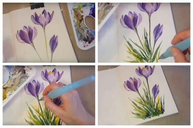 Что можно нарисовать на 8 марта для мамы и бабушки risunki k 8 marta 53