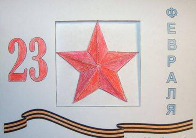 Красивые рисунки на 23 февраля для садика и школы risunok na 23 fevralya 104