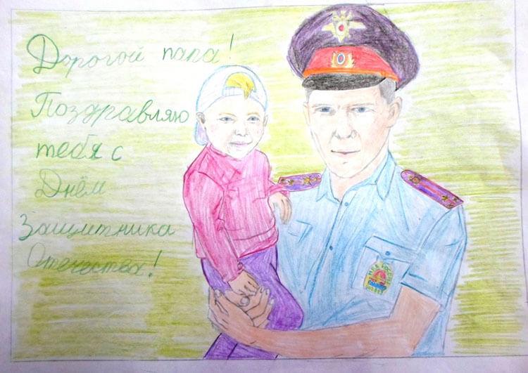 Красивые рисунки на 23 февраля для садика и школы risunok na 23 fevralya 11