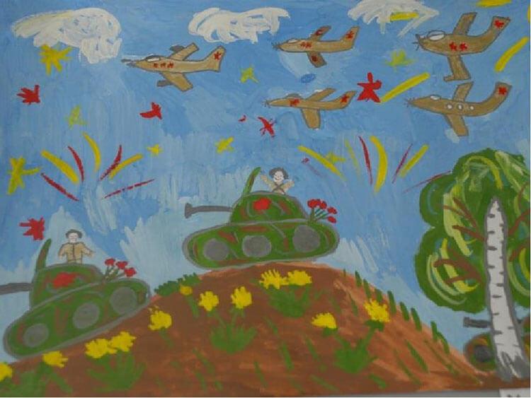 Красивые рисунки на 23 февраля для садика и школы risunok na 23 fevralya 140