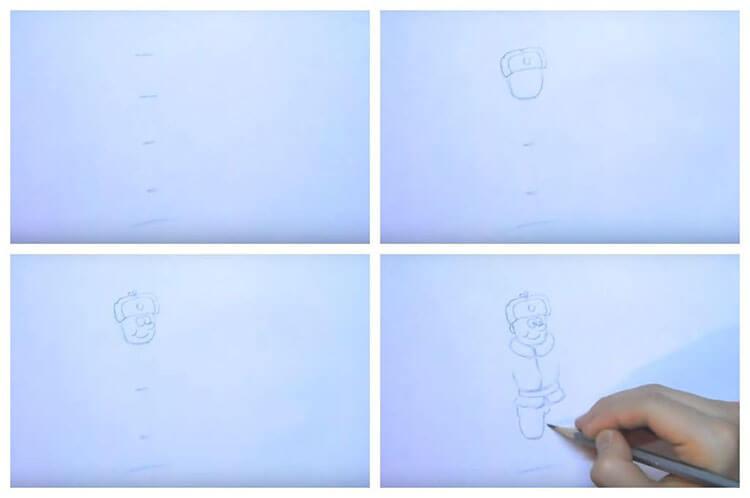 Красивые рисунки на 23 февраля для садика и школы risunok na 23 fevralya 38