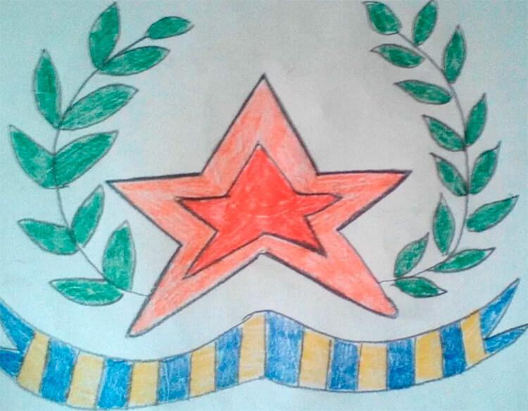Красивые рисунки на 23 февраля для садика и школы risunok na 23 fevralya 46