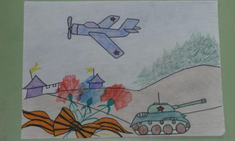 Красивые рисунки на 23 февраля для садика и школы risunok na 23 fevralya 55