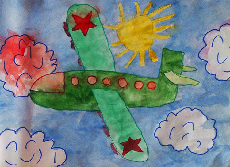 Красивые рисунки на 23 февраля для садика и школы risunok na 23 fevralya 61