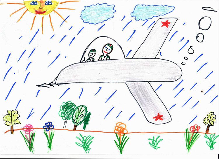 Красивые рисунки на 23 февраля для садика и школы risunok na 23 fevralya 62