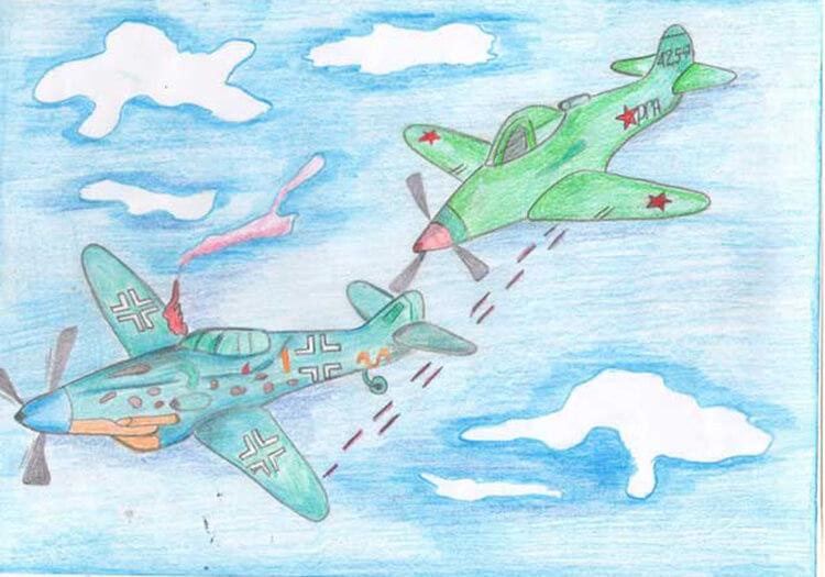 Красивые рисунки на 23 февраля для садика и школы risunok na 23 fevralya 65