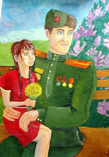 Красивые рисунки на 23 февраля для садика и школы risunok na 23 fevralya 86