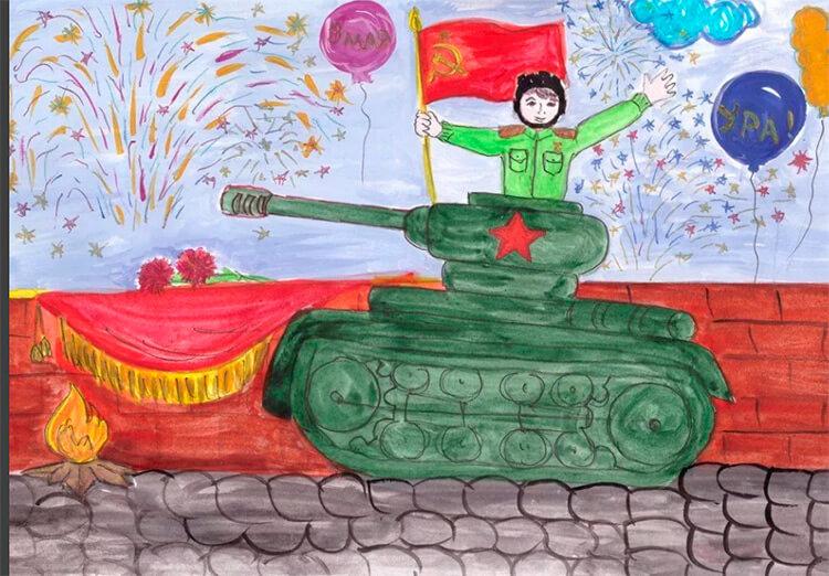 Красивые рисунки на 23 февраля для садика и школы risunok na 23 fevralya 89