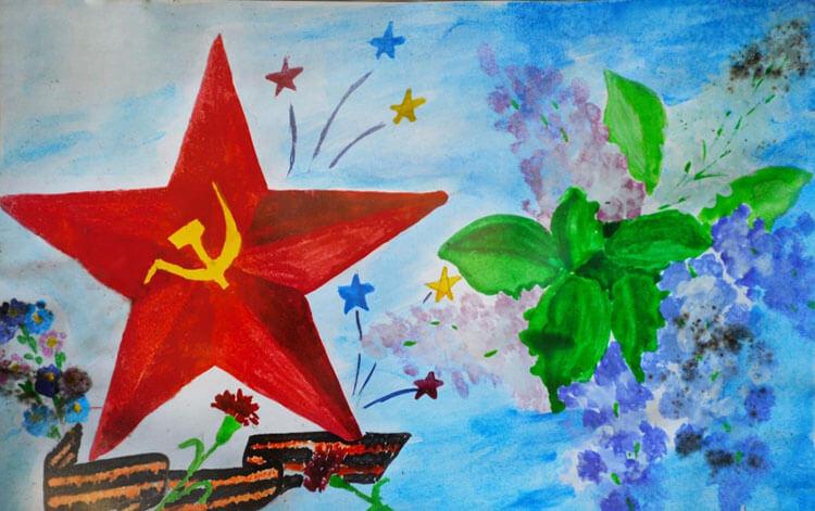 Красивые рисунки на 23 февраля для садика и школы risunok na 23 fevralya 91